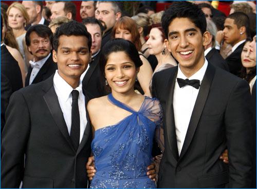 Oscars 2009 - Slumdog Millionaire Cast